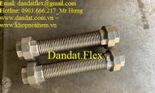 Ống mềm inox chịu nhiệt đàn hồi lắp rắc co - Ống mềm chịu nhiệt