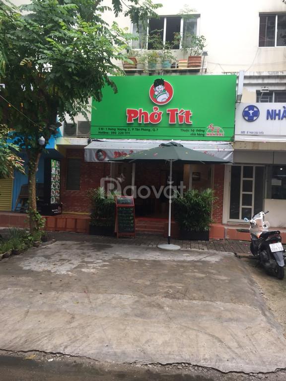 Shop Hưng Vượng, mặt tiền Lê Văn Thiêm, Phú Mỹ Hưng cần bán rẻ