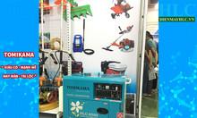 Máy phát điện chạy dầu diesel 5kva Tomikama công nghệ mới giá rẻ