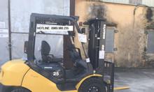 Cho thuê xe nâng Komatsu Nhật mới 100% 2.5-10 tấn