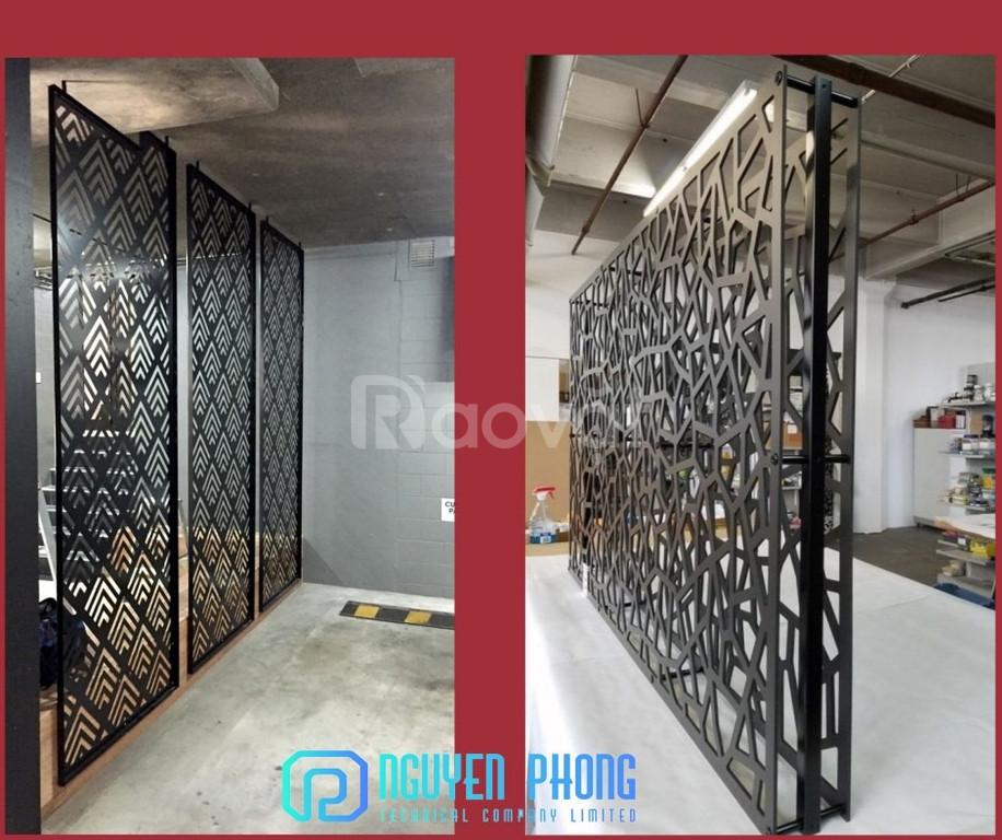 Phong cách hiện đại với vách ngăn sắt CNC 2020