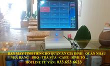 Bán máy tính tiền cho quán ăn, quán nhậu tại Bình Định