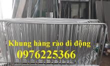Sản xuất khung hàng rào di động, Barie sự kiện giá rẻ tại Hà Nội