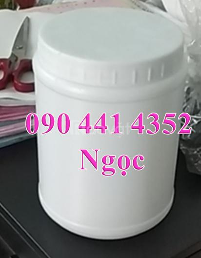 Bán hủ nhựa 1 lít vuông nắp garenty,hủ nhựa 1kg đựng hóa chất quận 10