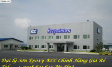 Đại lý sơn lăn phủ nền nhà xưởng EPOXY kcc et5660 giá rẻ