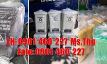 Thùng rác y tế 20 lít vàng tại quận 10,thùng rác y tế 15 lít TPHCM