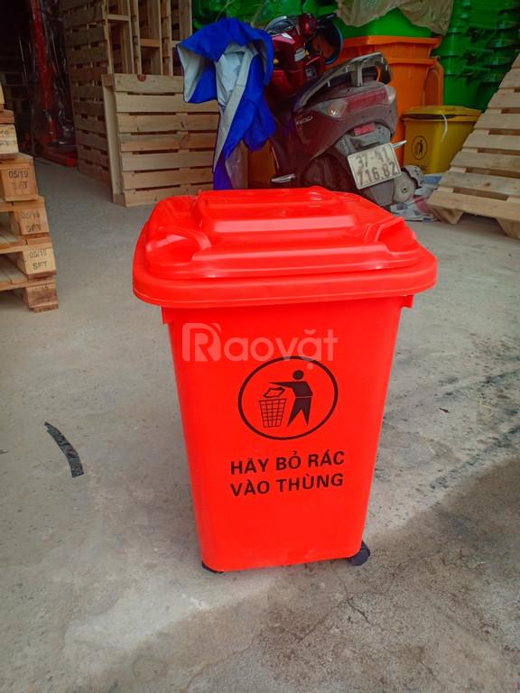 Thùng rác nhựa Nghệ An giá rẻ