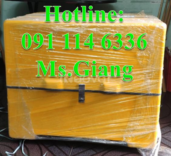 Thùng giao hàng loại trung có mốt cách nhiệt,thùng ship hàng tiki