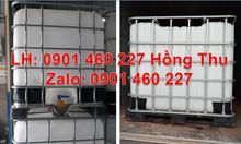 Thùng nhựa 1000 lít vuông cao cấp hàng nhập khẩu tại TPHCM