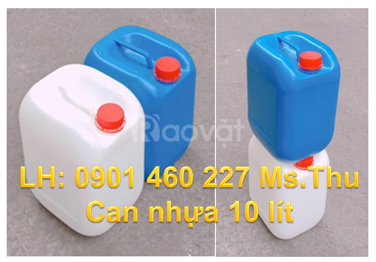 Can nhựa, thùng nhựa 10 lít