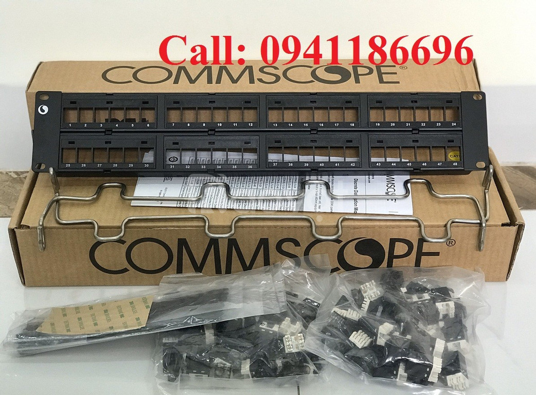 Thanh đấu nối Patch Panel 48 Port COMMSCOPE Cat5/Cat6
