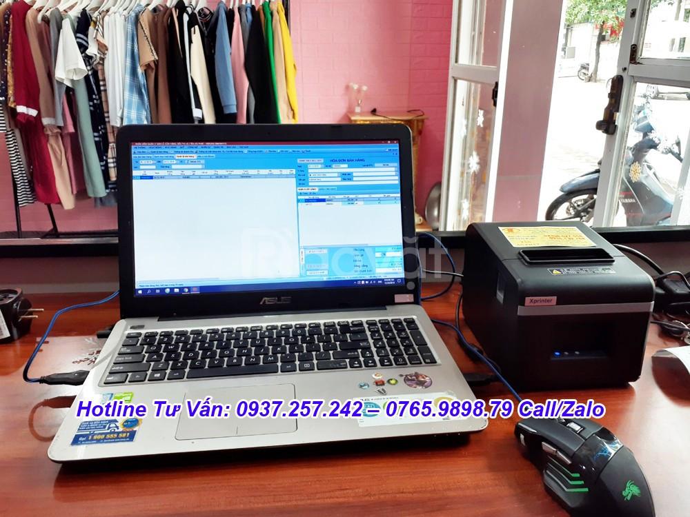 Lắp đặt máy tính tiền tại Đồng Nai cho shop quần áo, giày dép