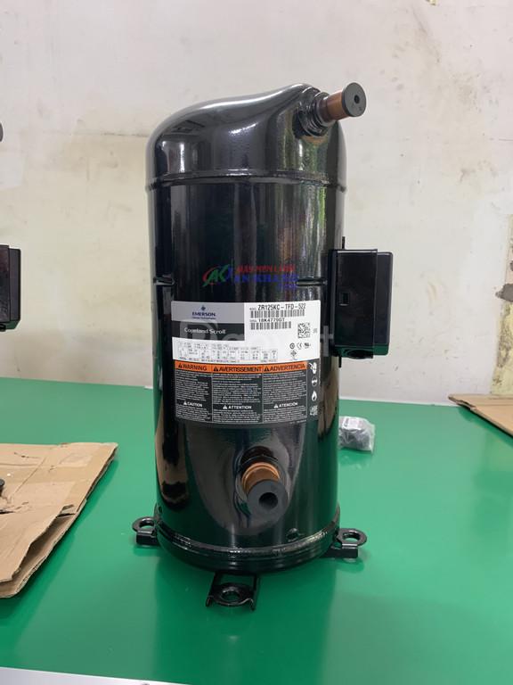 Cung cấp và phân phối block lạnh Copeland Emerson ZR125KC-TFD-522 10hp