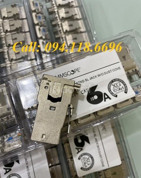 Patch Panel Commscope CAT6A chống nhiễu 24 port, UTP, 1U mã 760162800