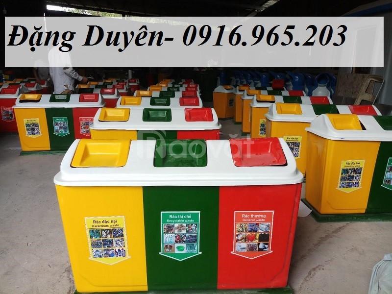 Giảm giá thùng rác 3 ngăn 3 màu chất lượng (ảnh 5)