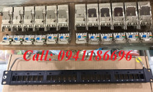 Patch Panel Commscope CAT6A chống nhiễu 24 port, UTP, 1U mã 760162800