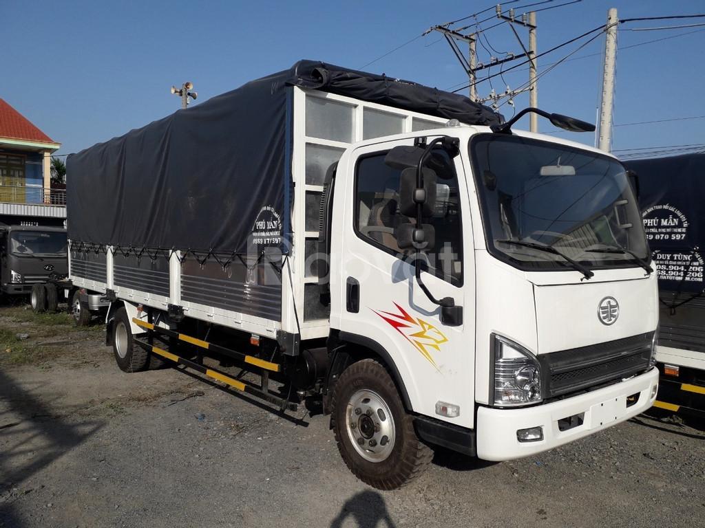 Xe tải 7 tấn faw thùng 6m3 máy hyundai|Trả trước 150tr nhận xe