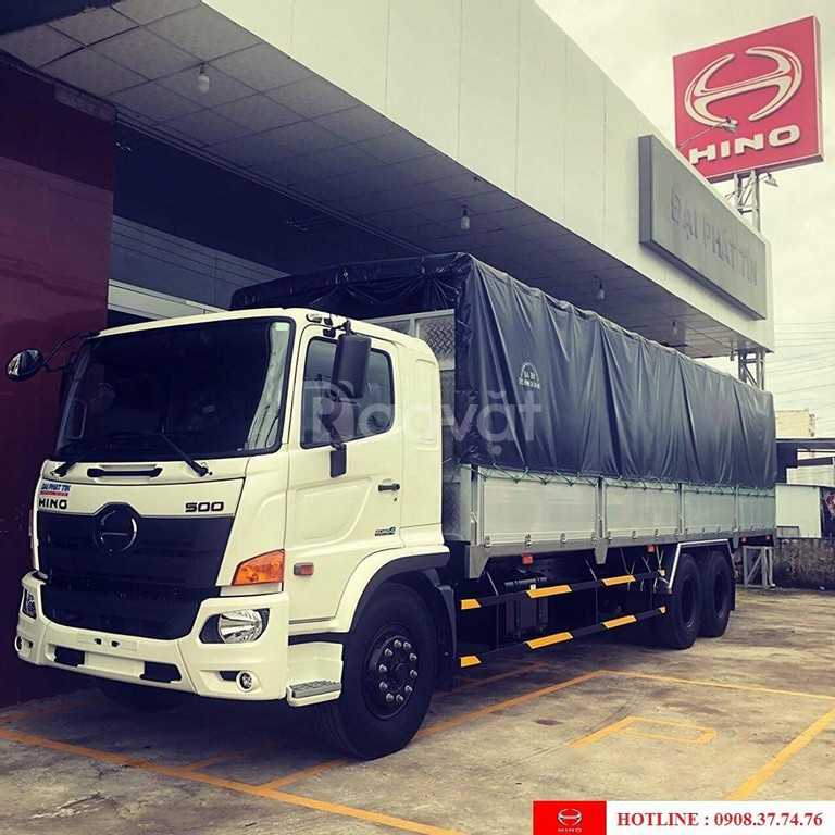 Xe tải hino 15 tấn đời 2020