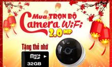 Khuyến mãi trọn gói lắp đặt camera tết 2020 giá rẻ