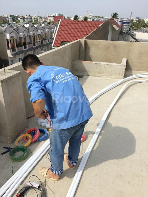 Chuyên: Tư vấn, thi công lắp đặt đường ống đồng máy lạnh, đi âm tường