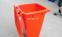 Thùng rác 120 lít - thùng đựng rác 240 lít - bán thùng rác