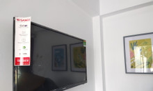 Nhà mới mặt tiền QL1A, đầy đủ nội thất