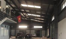 Cho thuê kho xưởng DT 1500m2 khu công nghiệp Đài Tư , Long Biên Hà Nội