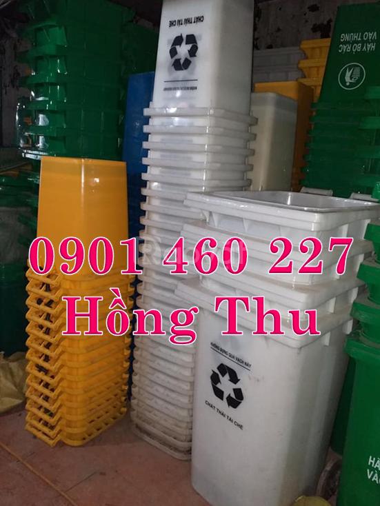 Tìm mua thùng rác 120 lít,thùng rác nhựa 240 lít,thùng rác HDPE 120L