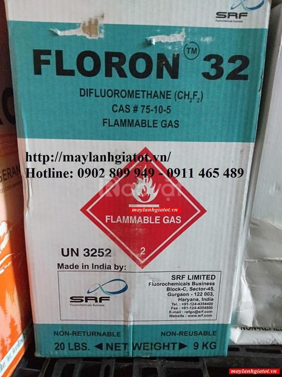 Đại lý bán gas lạnh Floron R32 9kg-Thành Đạt
