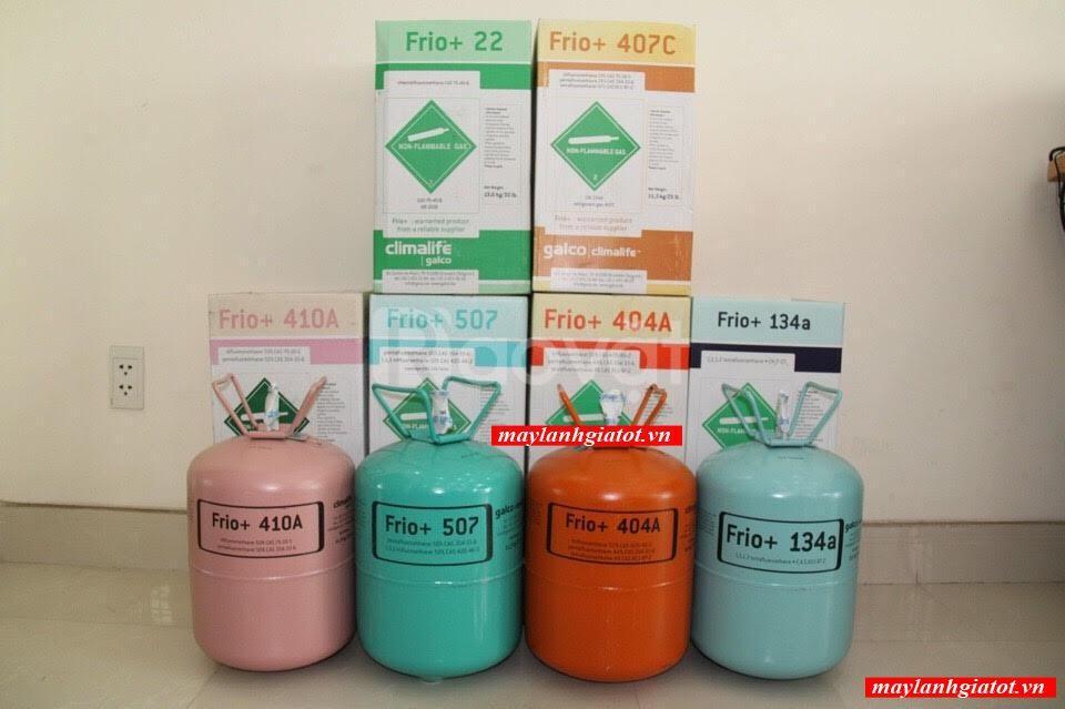 Phân phối giá sỉ và lẻ gas lạnh Freon 507 (11.35kg/Bình)