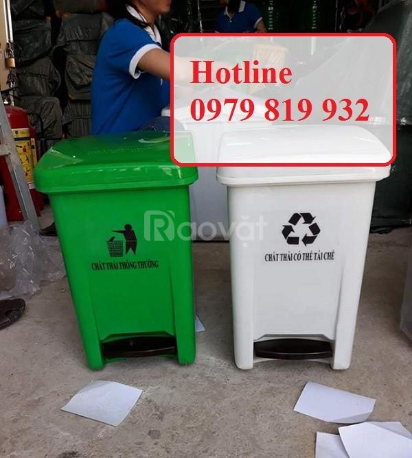 Cung cấp thùng rác y tế 20 lít 25 lít màu vàng đựng chất thải y tế