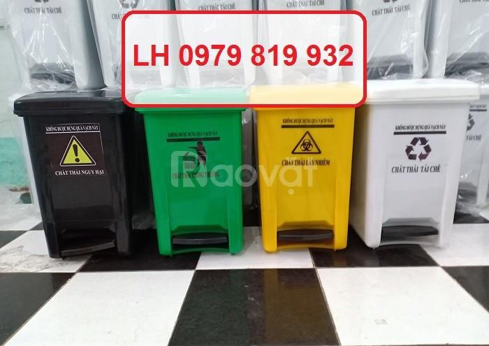 Cung cấp thùng rác y tế 15l thùng rác y tế 20l