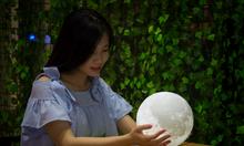 Đèn mặt trăng Luna - Đèn trang trí nội thất - Size 15cm