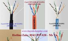 Cáp mạng Hosiwell Cat.6 4P 23AWG (UTP, FTP, LSZH, Outdoor, F/UTP,...)
