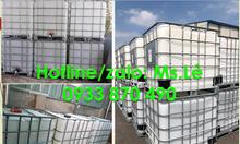 Bồn nhựa nhập khẩu 1000 lít loại qua sử dụng tại TPHCM