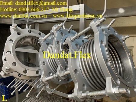 Khớp nối mềm inox công nghiệp kích thước đa dạng, Khớp nối mềm inox 34