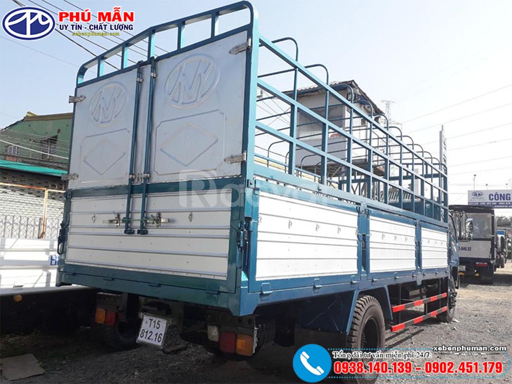 Xe tải 7 tấn ga cơ, thùng dài 7m