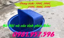 Bể nhựa nuôi cá, thùng nuôi cá đủ dung tích