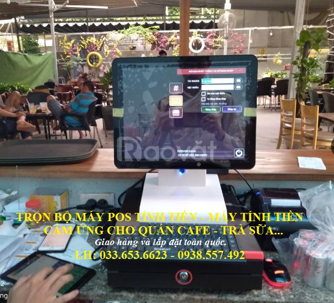 Máy tính tiền cho quán Trà sữa, Cafe giá rẻ tại Đồng Nai