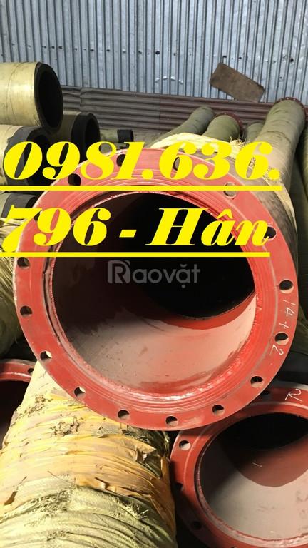 Ống cao su bơm bê tông Phi 150 chất lượng .