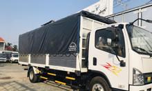 Xe tải faw 7 tấn thùng 6m3 máy hyundai