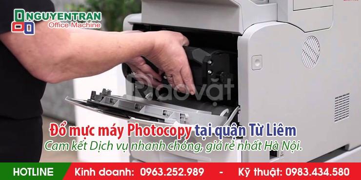 Đổ mực máy Photocopy tại quận Từ Liêm