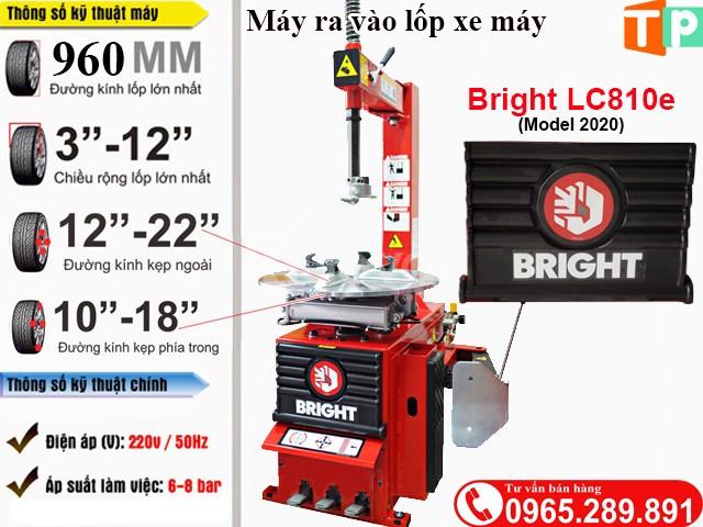 Máy tháo lốp xe Bright LC810e năm 2020 (ảnh 3)