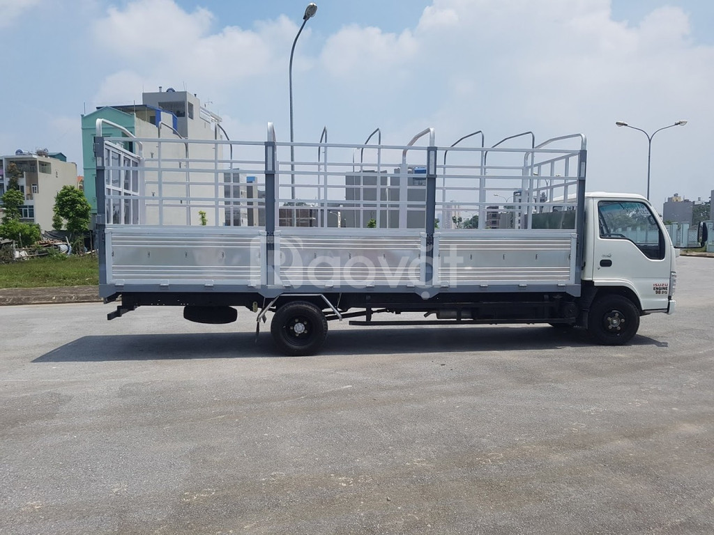 Xe tải isuzu 1.9 tấn thùng 6m2 chuyên chở hàng pallet
