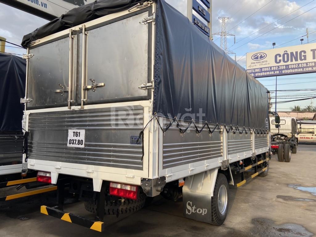 Xe tải faw thùng ngắn 7t3 chở hàng tết  (ảnh 8)