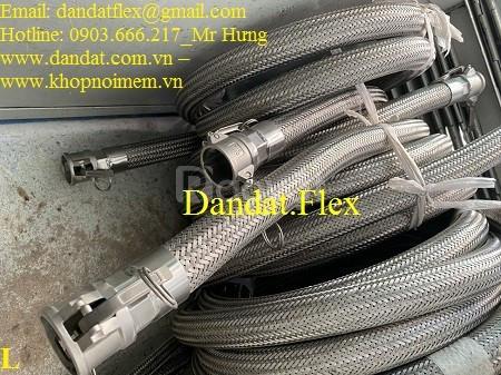 Khớp nối mềm inox chịu nhiệt - Mối nối mềm inox - Khớp nối kim loại
