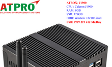 Máy tính mini ATBOX-J1900 CPU celeron j1900 Ram 8Gb SSD 128GB