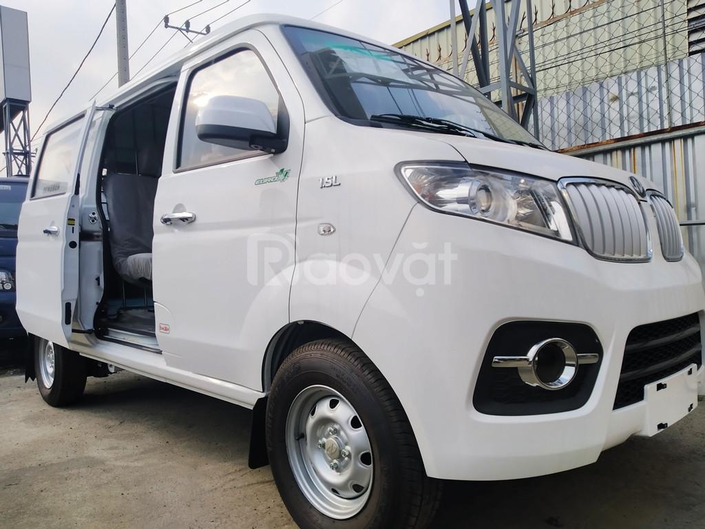 Bán xe tải van dongben x30 chở hàng vô thành phố