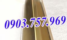 Nẹp v20 vàng bóng, nẹp hộp kỹ thuật, nẹp trang trí v20