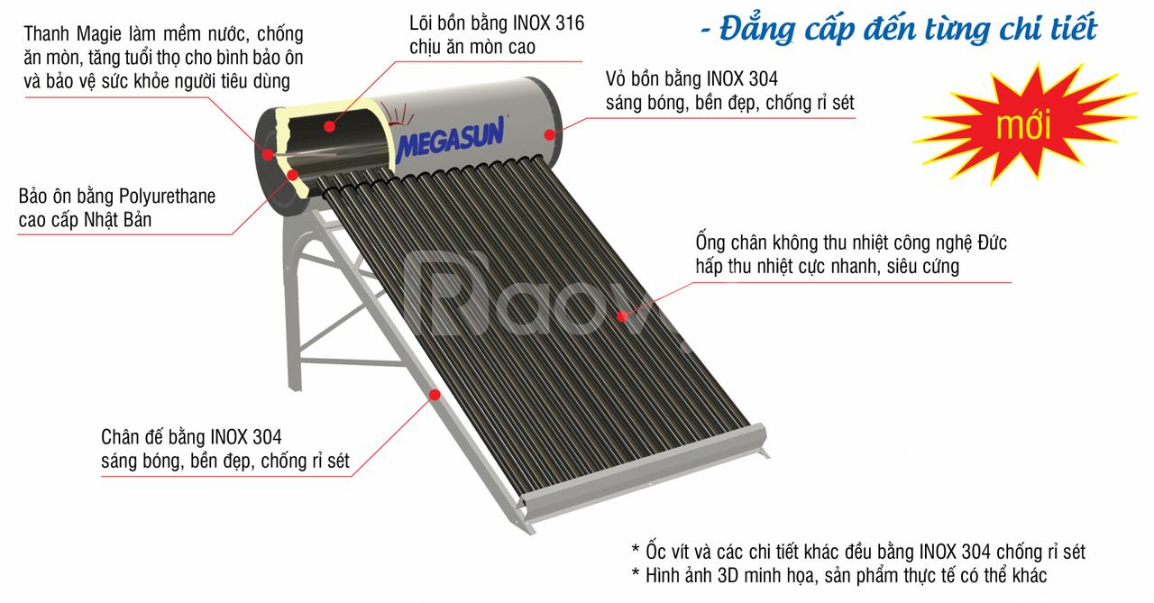 Máy nước nóng Megasun KAS – SUPER